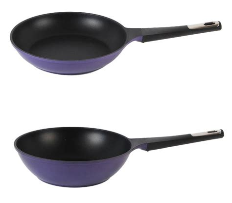 Wok Pan 26 Cm Keramik Pan Bolde Purple neoflam nonstick stan plus purple fry pan cookware 30cm ebay