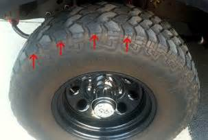 Vehicle Tire Cupping Uneven Tire Wear Problems Ford Trucks