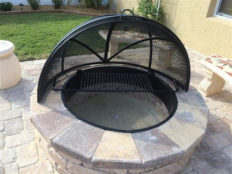 Firepit Screen Custom Pit Screens Pit Design Ideas