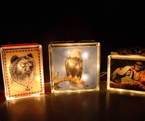 how to make glass blocks with lights how to make a lighted glass block 2