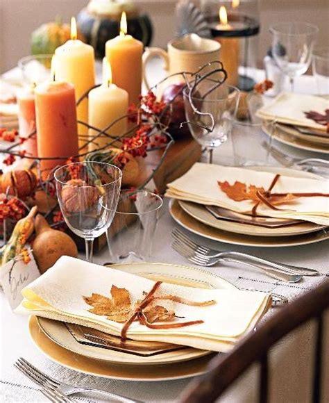 Thanksgiving Dinner Decor by Thanksgiving Decor Ideas