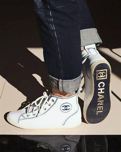chanel sneakers chanel shoes on