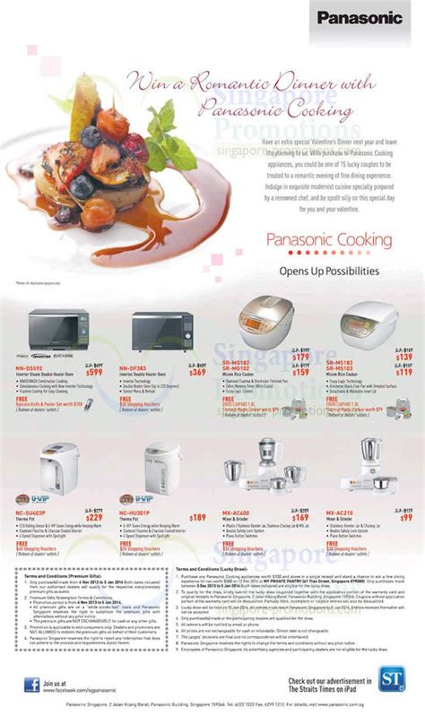 kitchen appliances list with price panasonic kitchen appliances price list offers 9 dec 2013