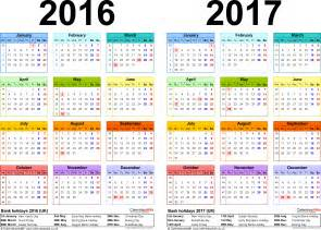 2016 And 2017 Academic Calendar School Calendar 2016 2017 Academic Calendar Templates