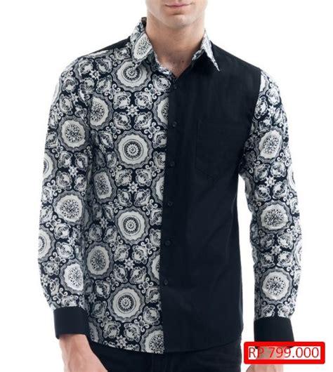 Baju Ok Untuk Wanita Pria Lengan Panjang 27 model baju batik kombinasi untuk pria trend terkini model baju