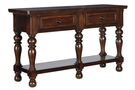 dining room servers porter dining room server in rustic brown by ashley at