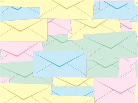 background design for email email and letter post it ppt backgrounds technology