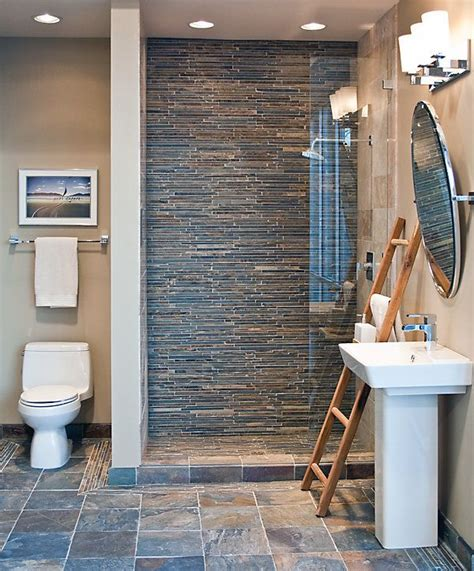 Bathroom Slate Tile Ideas 1000 Ideas About Slate Tile Bathrooms On Pinterest Slate Bathroom Master Bath Remodel And