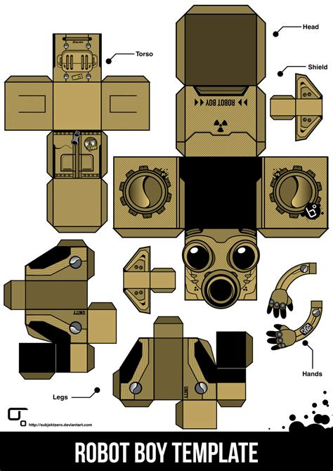 robot template papercraft robot template cake ideas and designs