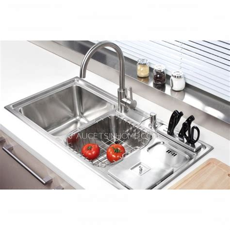 kitchen sinks with faucets practical sinks stainless steel kitchen sinks with