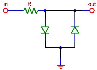 diode limiting circuit ece 291 lab 9 the diode and the diode circuit