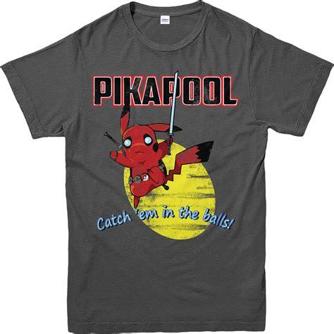 Deadpool 3 T Shirt deadpool t shirt pikachu pikapool t shirt inspired top