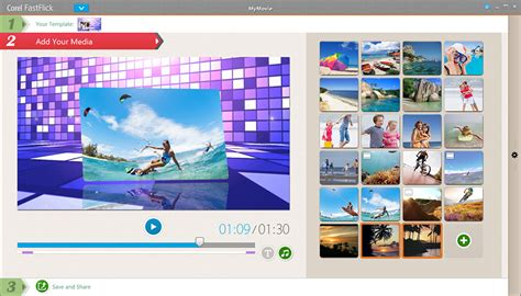 Photo And Video Editing Software Corel Photo Video Suite X7 Corel Fastflick Templates