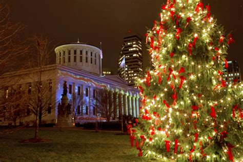 home lighting stores columbus ohio the ohio state house during christmas