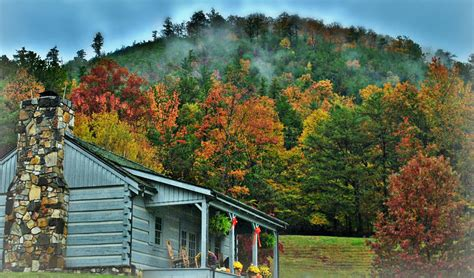 Cabin Of The Smokies by Fantastic Fall Season In The Great Smoky Mountains 38 Pics
