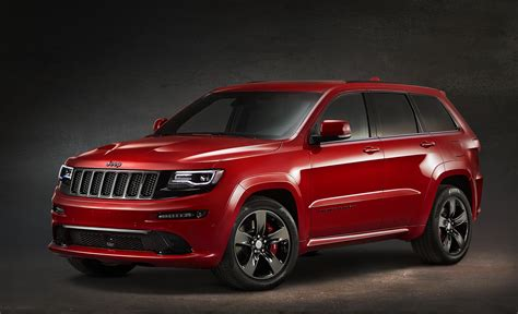 jeep cars red 2014 jeep grand cherokee srt red vapor conceptcarz com
