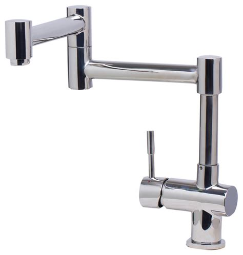 modern kitchen faucets stainless steel solid polished stainless steel retractable single