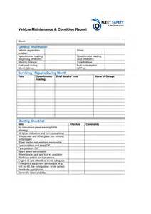 Vehicle Service Report Template best photos of monthly vehicle maintenance checklist