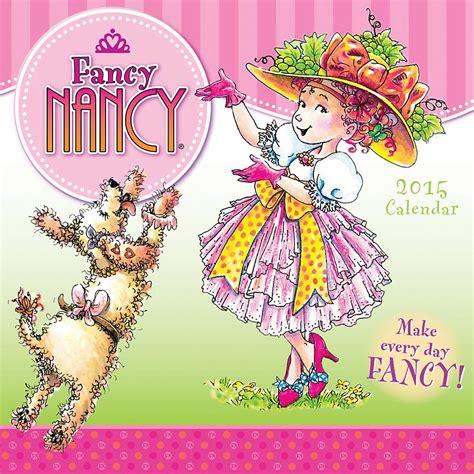 fancy nancy oodles of kittens books fancy nancy 2015 wall calendar 9781416295235