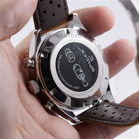 Jam Tangan Tag Heuer Space X harga sarap jam tangan tag heuer spacex cal 1887 silver brown