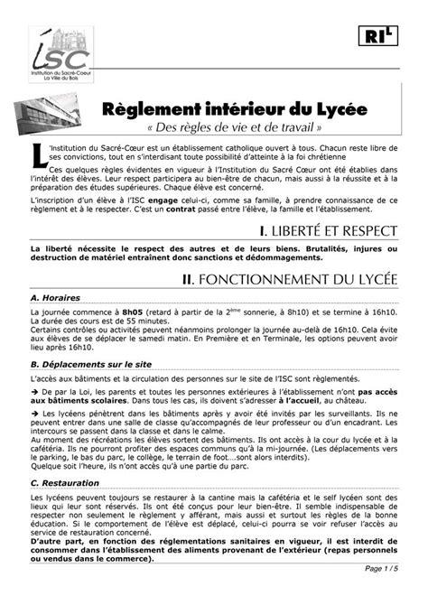 exemple reglement interieur association loi 1901 28 images modele document association