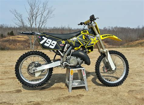 2002 Suzuki Rm 125 2002 Rm125 Skymx99 S Bike Check Vital Mx