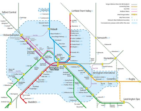 map uk metro birmingham railway and metro map free printable maps