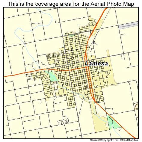 la mesa texas map aerial photography map of lamesa tx texas
