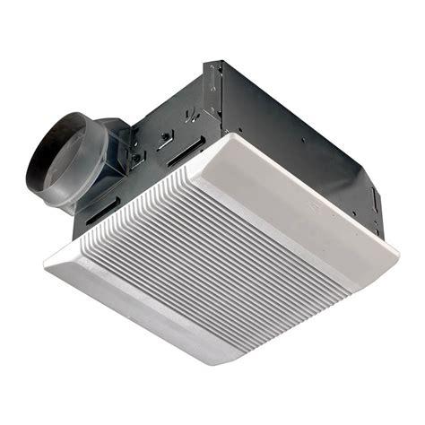 bathroom exhaust fans at lowes shop nutone 3 5 sone 110 cfm polymeric white bathroom fan