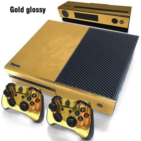 aliexpress xbox one aliexpress com buy gold glossy sticker for xbox one