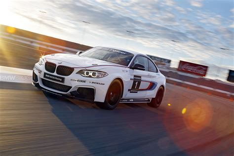 Track Car see bmw m235i race car on the track