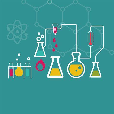 design lab free フリーイラスト素材 イラスト 実験 化学 実験器具 フラスコ 試験管 原子 分子 eps id