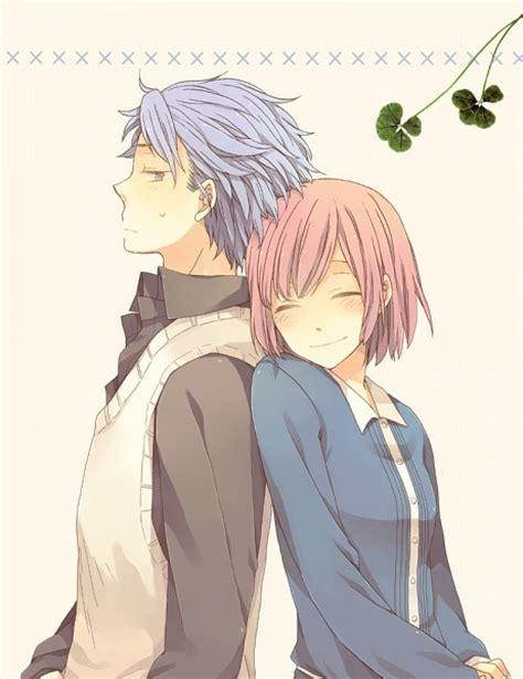 imagenes anime love kiss lupitadarkangel im 225 genes anime amor love parejas kiss