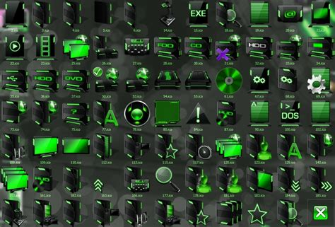 free download themes for windows 7 with icons hud 7tsp icon pack
