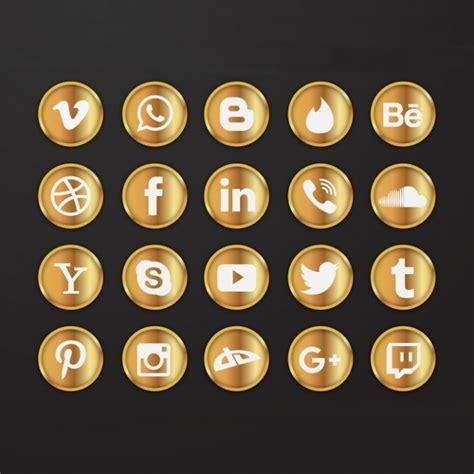 social media icons psd vector eps format