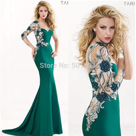 Dress Exotix Green 2015 green one shoulder sleeve see through beaded lace top chiffon floor length