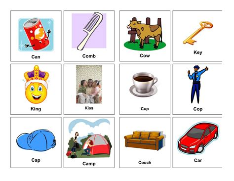 words with x and k clear speech therapy k words