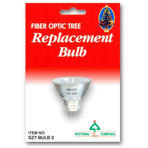 national tree company fiber optics replacement bulb 12v 10w