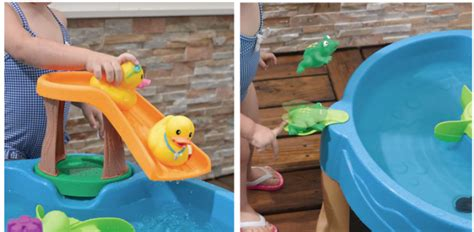 step2 duck pond water table kohls kohl s cardholders step2 duck frog pond water table