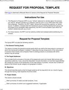 Rfp Request For Template by 8 Request For Template Timeline Template