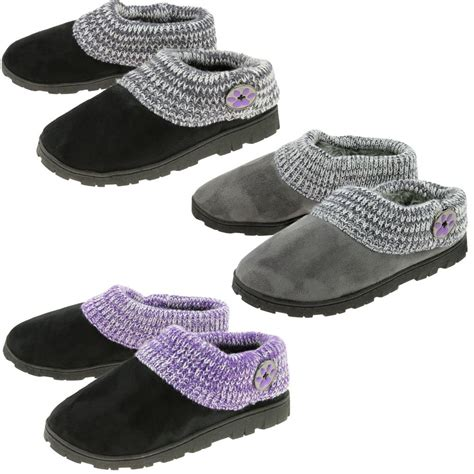 paw slippers purple paw comfy clog slippers