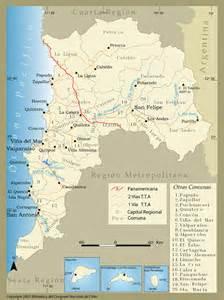La V Mapa De La V Region De Chile