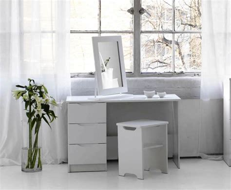 white modern vanity table modern white makeup vanity the how to decorate