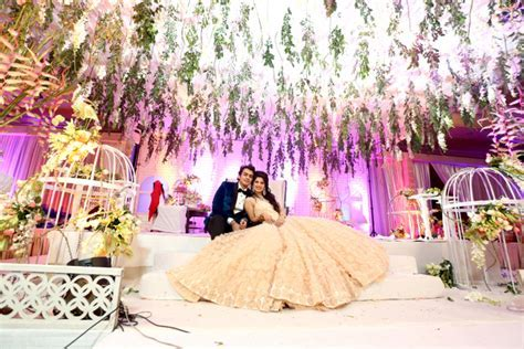 Romantic engagement in Delhi   WedMeGood   Best Indian