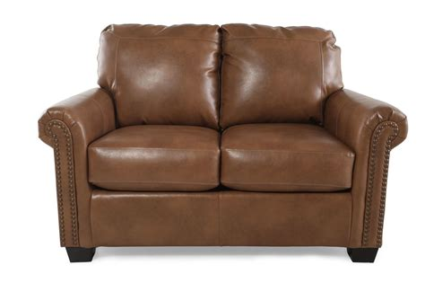 accent loveseat nailhead accent transitional 58 quot twin sleeper loveseat in