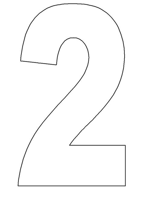 Number 2 Coloring Pages For Preschoolers by 2 Coloring Number Printouts Number 2 Coloring Activity