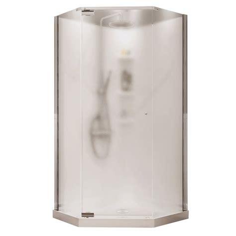 Shower Kit Lowes by Maax 72 In H X 36 In W X 36 In L White Neo Angle 3