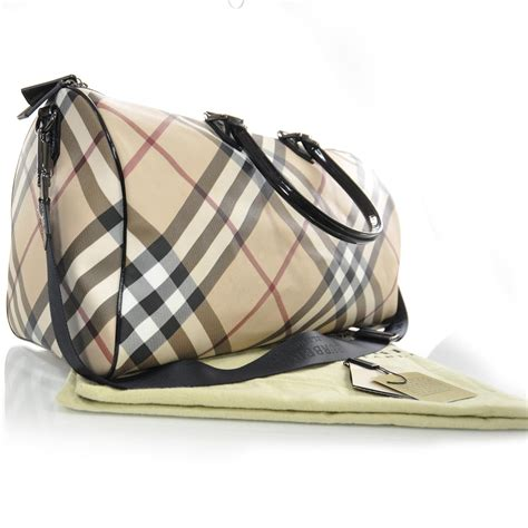 Travel Bag Burberry Salem burberry check boston travel bag 26662