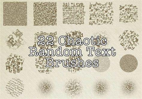 random pattern brush photoshop 22 chaotic random text brushes free photoshop brushes at