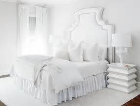 All White Bedrooms The Glam Pad Glamorous White Bedrooms